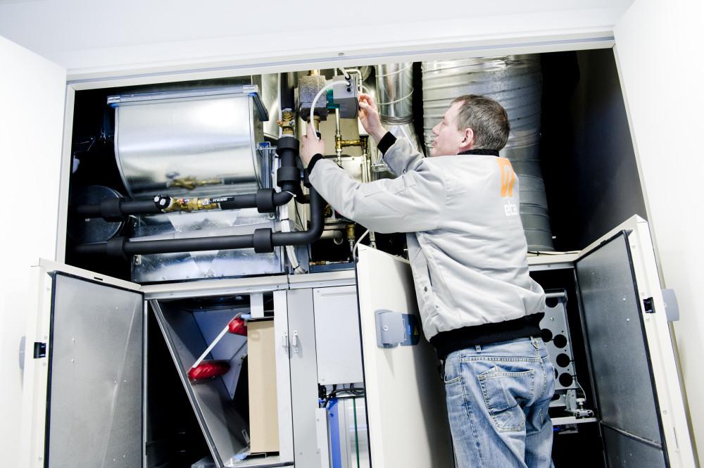 Kurs i energieffektiv drift av VVS-tekniske anlegg