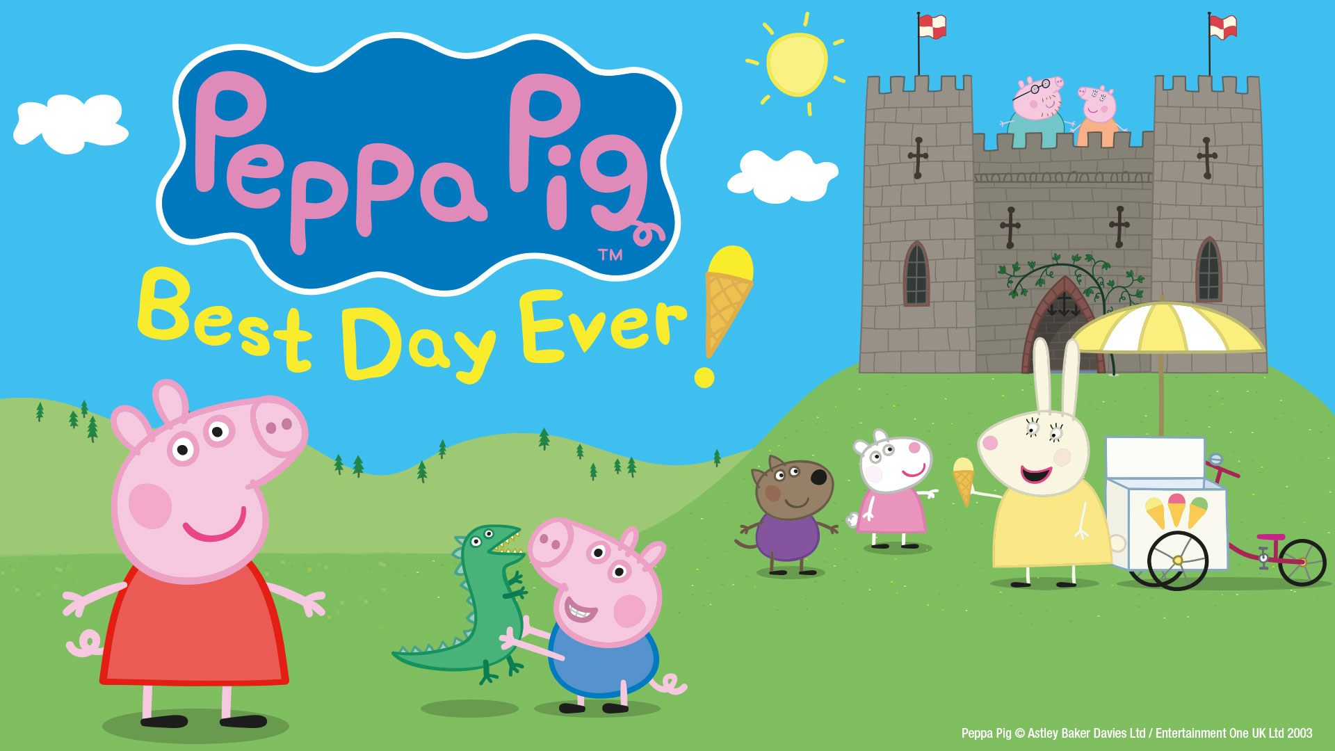 title artwork for Peppa Pig: Best Day Ever!