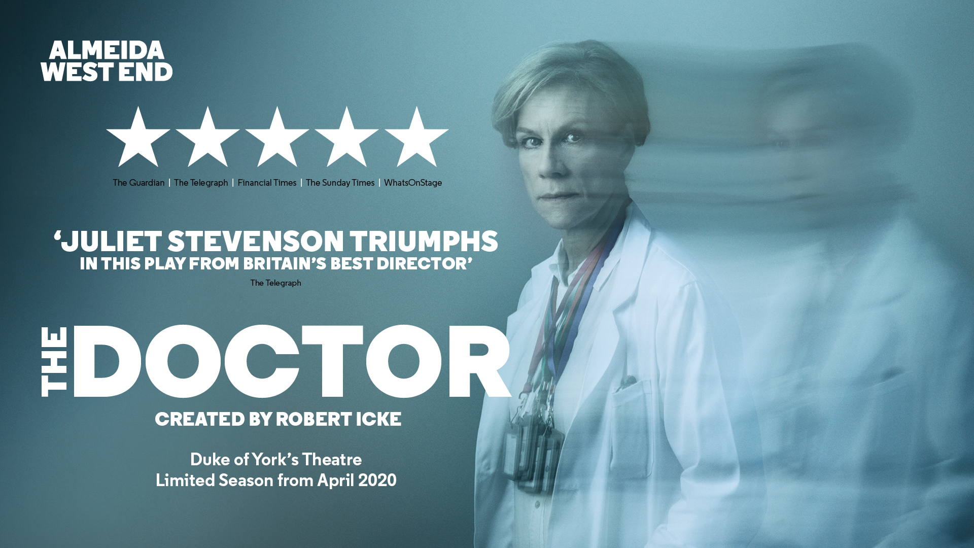 title artwork for The Doctor starring Juliet Stevenson