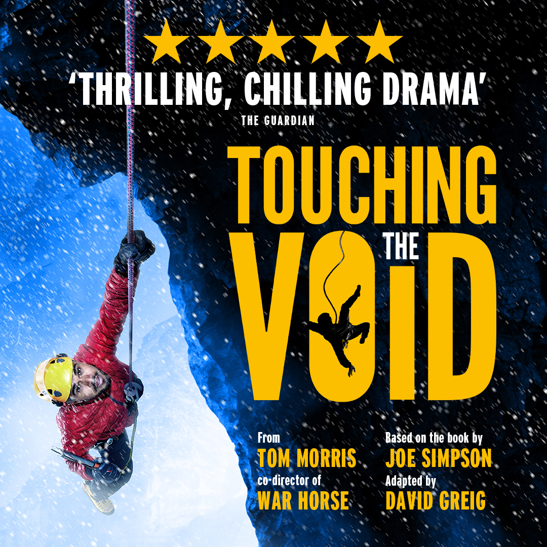 Title artwork for Touching the void