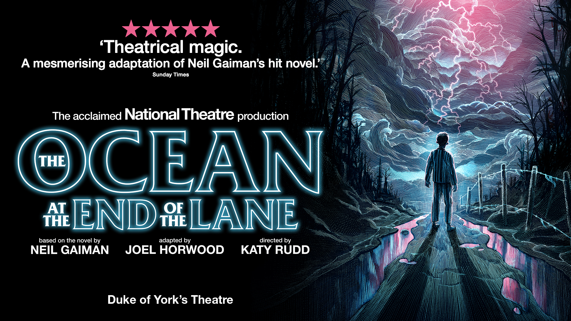 Title artwork for The Ocean at the End of the Lane