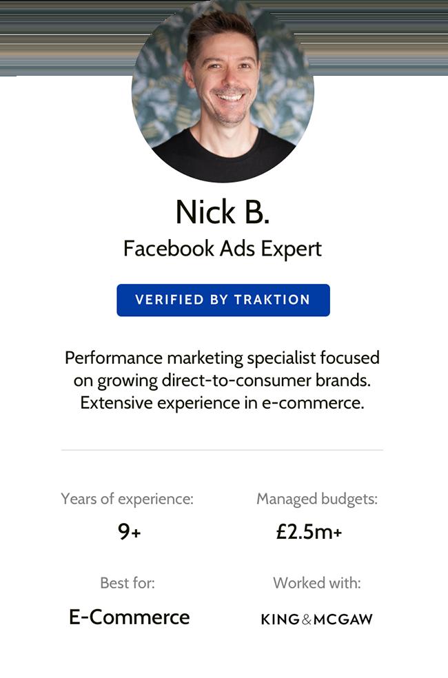 Traktion Marketer - Nick Boyce