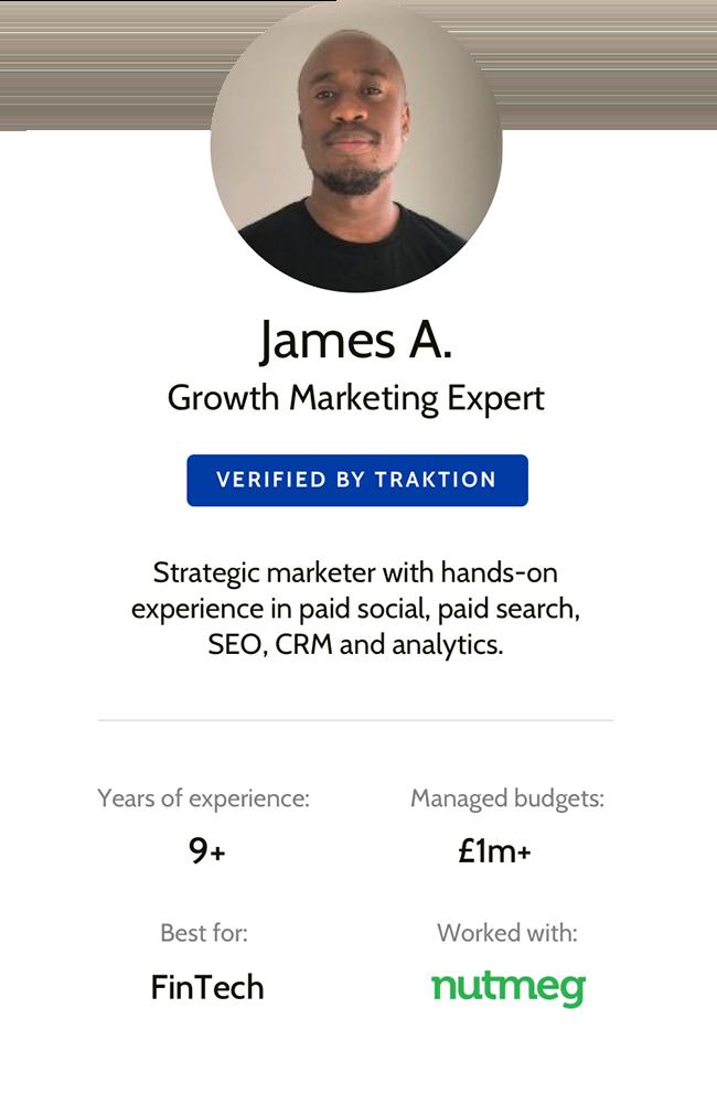 Traktion Marketer - James A