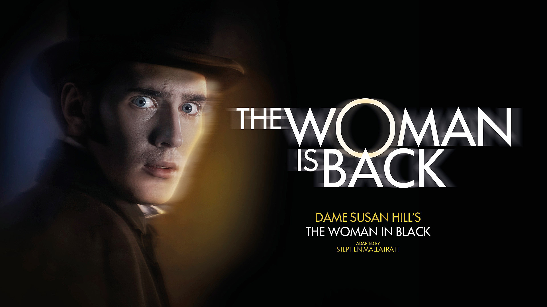 Production image for The Woman in Black celebrating 30 years