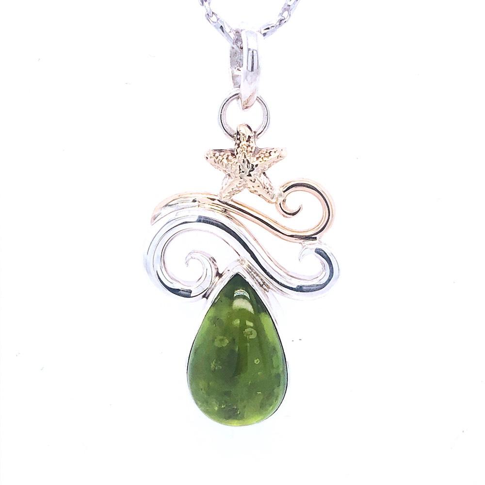 Peridot Necklace pendant