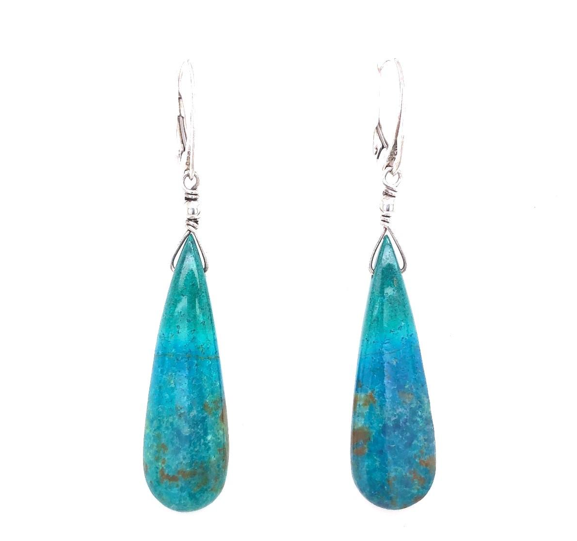 crysacola earrings