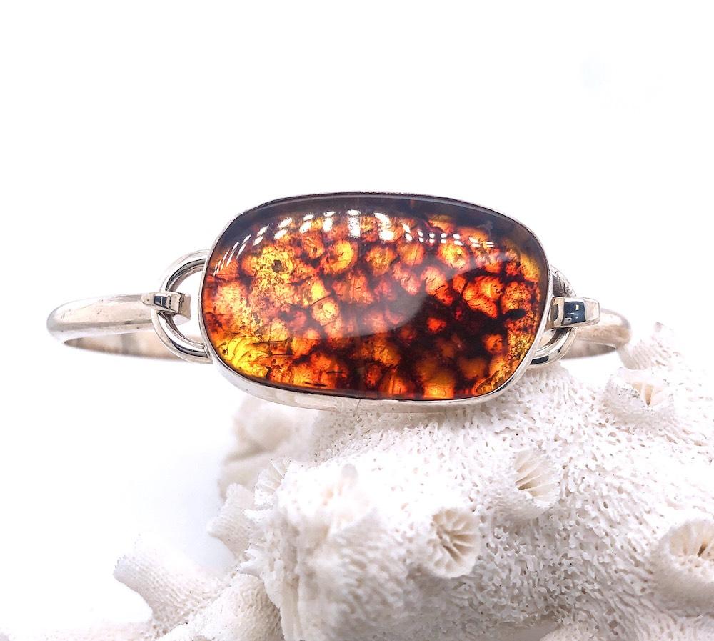 Amber Hook bracelet