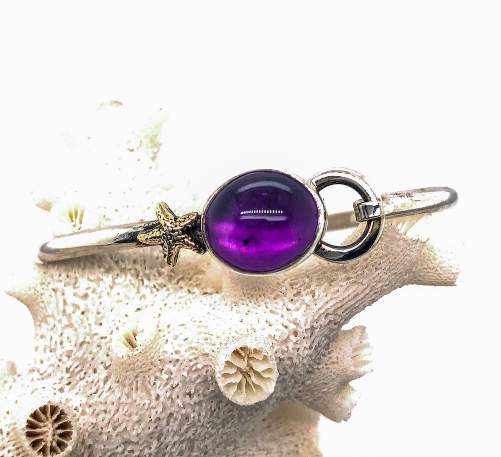 Amethyst Hook bracelet