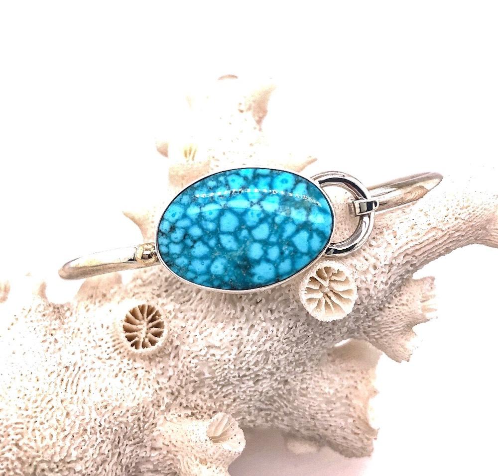 Turquoise Hook Bracelet