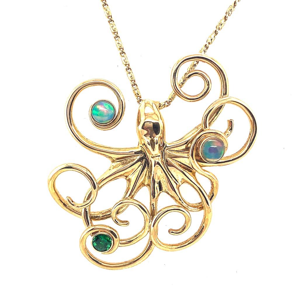 Gold Opal Octopus