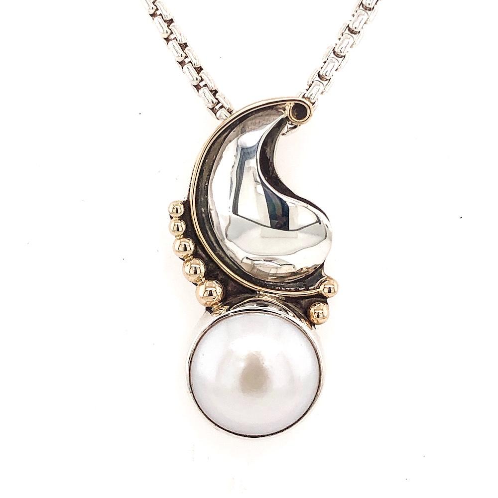 Paisley Pearl Pendant