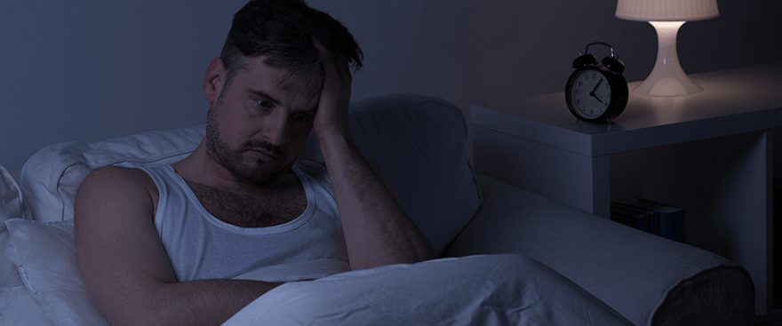 Problems with sleep apnea can include insomnia, morning headaches and snoring.