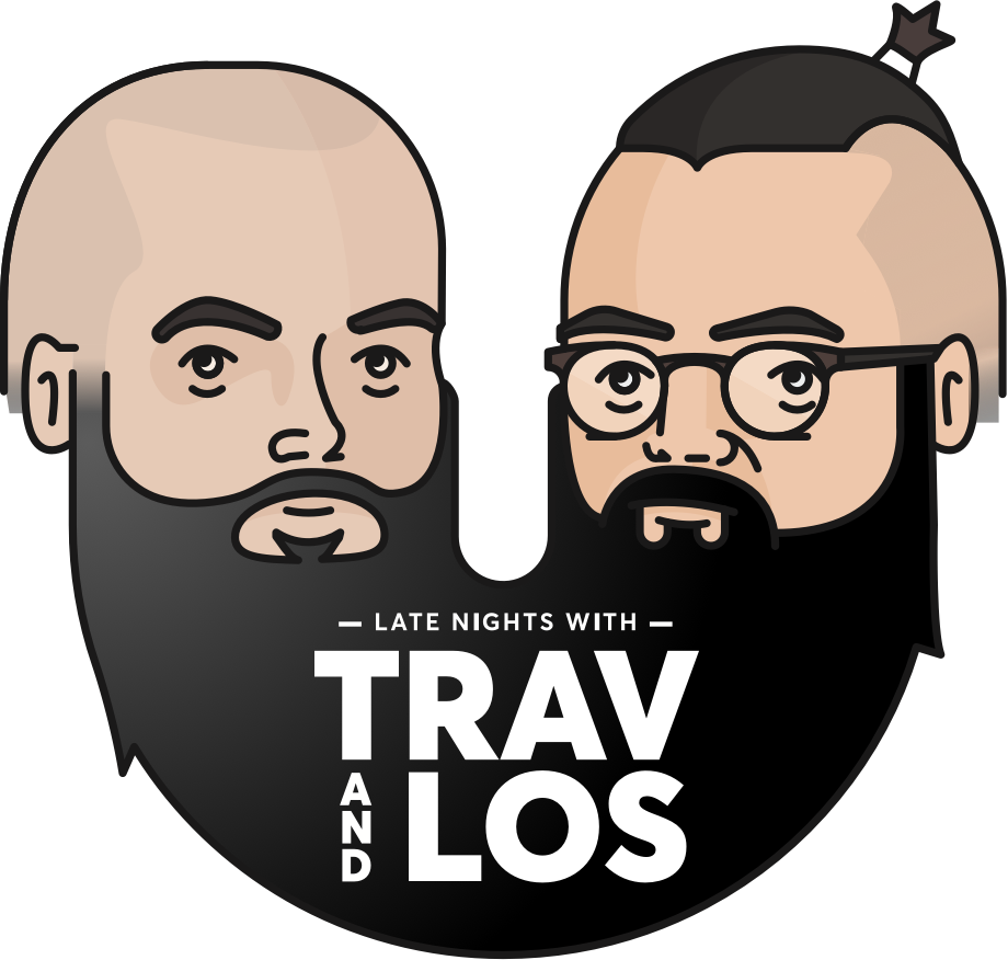 Trav & Los Podcast Logo