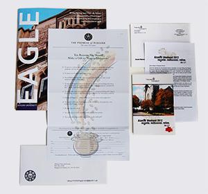 Niagara University Fundraising Direct Mail