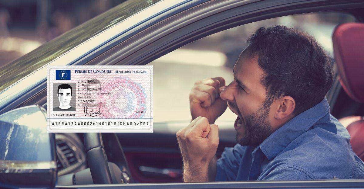 annulation permis de conduire