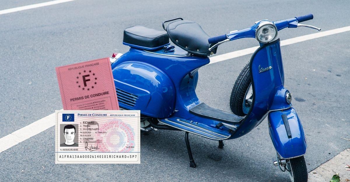 Duplicata permis de conduire scooter