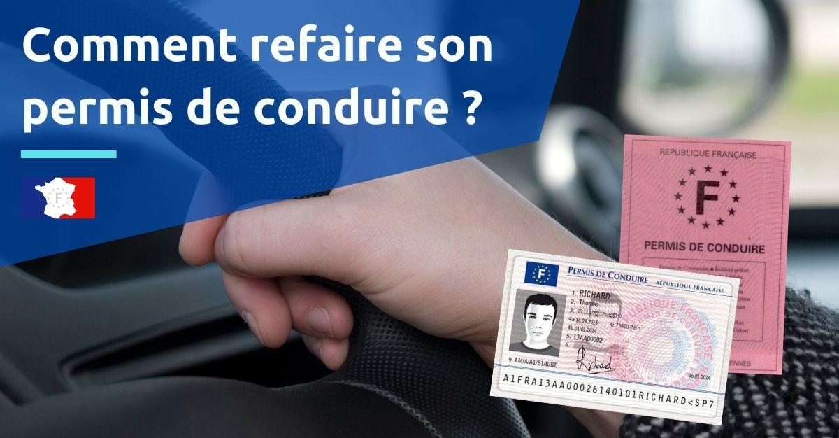 refaire son permis de conduire