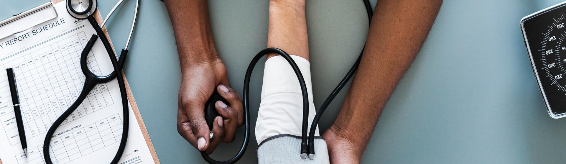 blood pressure cuff, Austin Texas Web Developer Web Designer