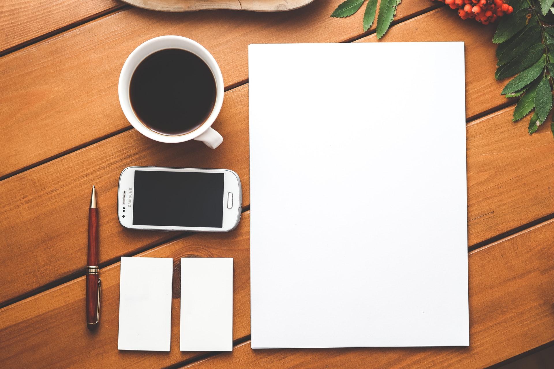 blank paper, Austin Texas Web Developer Web Designer