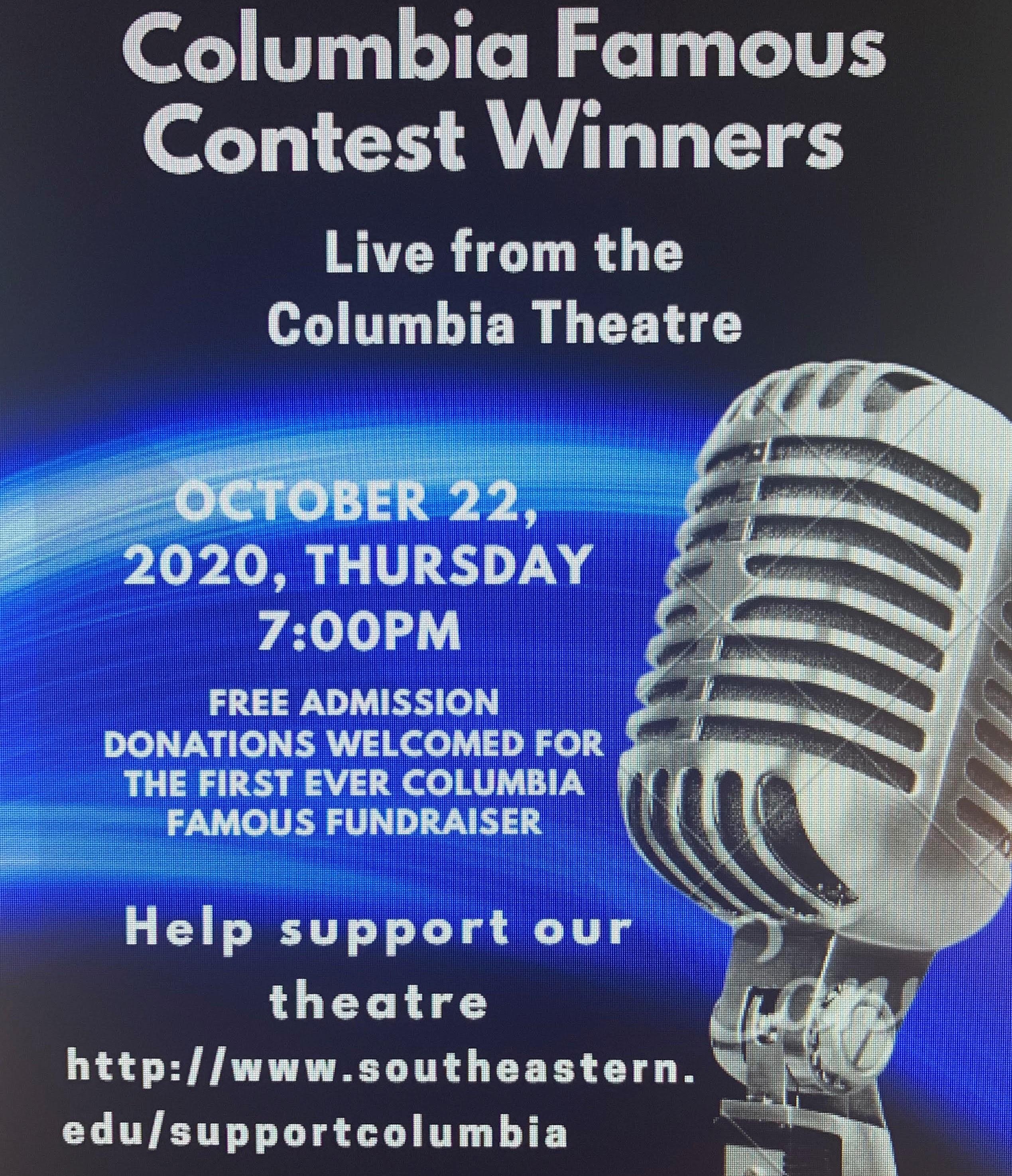 Columbia Famous Talent Show