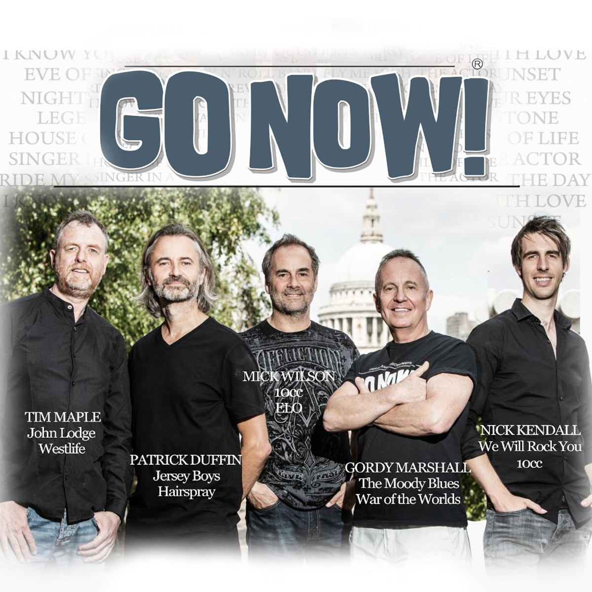 GO NOW! Livestream Concert Fundraiser for Columbia