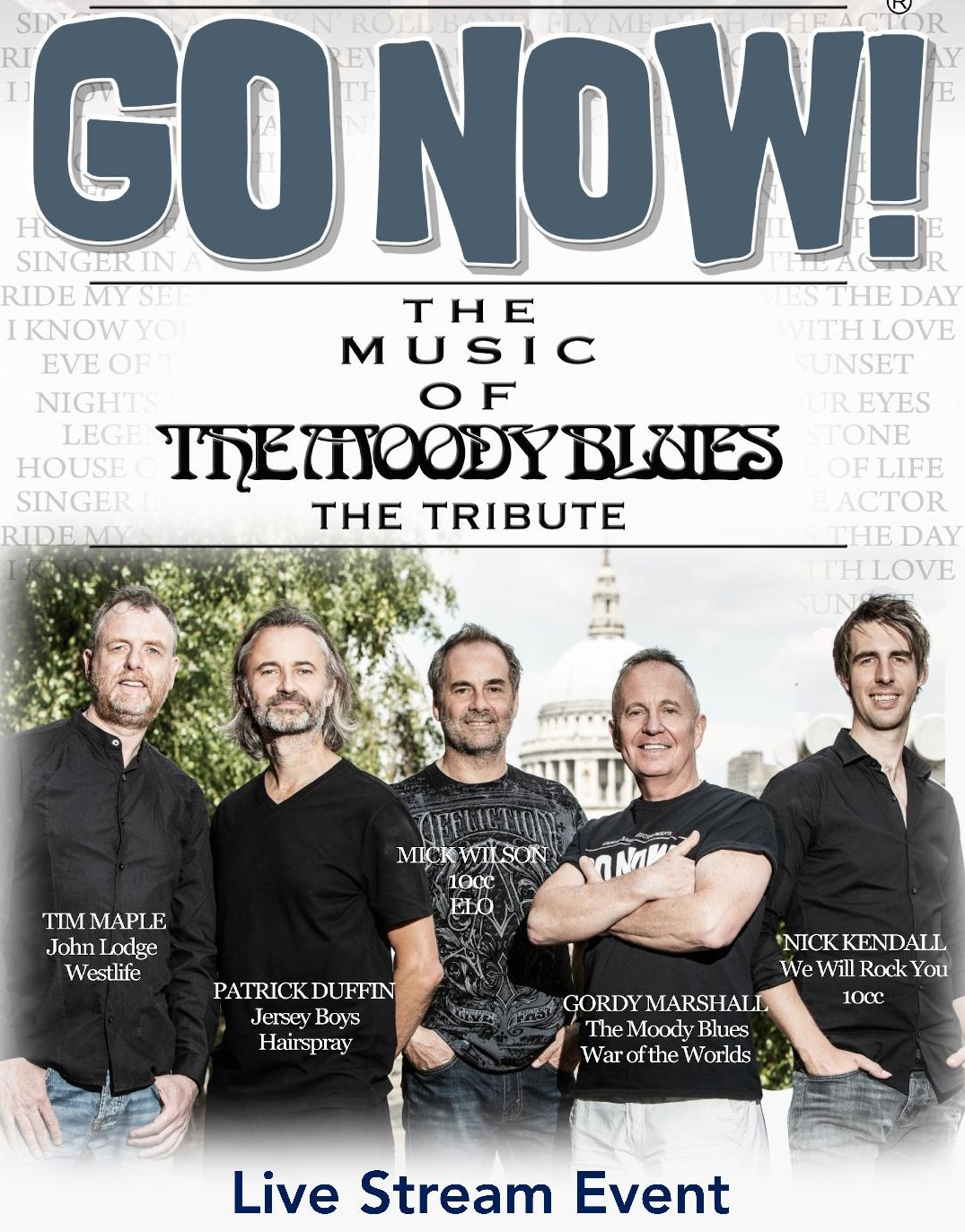 GO NOW!  The Music of The Moody Blues - The Tribute