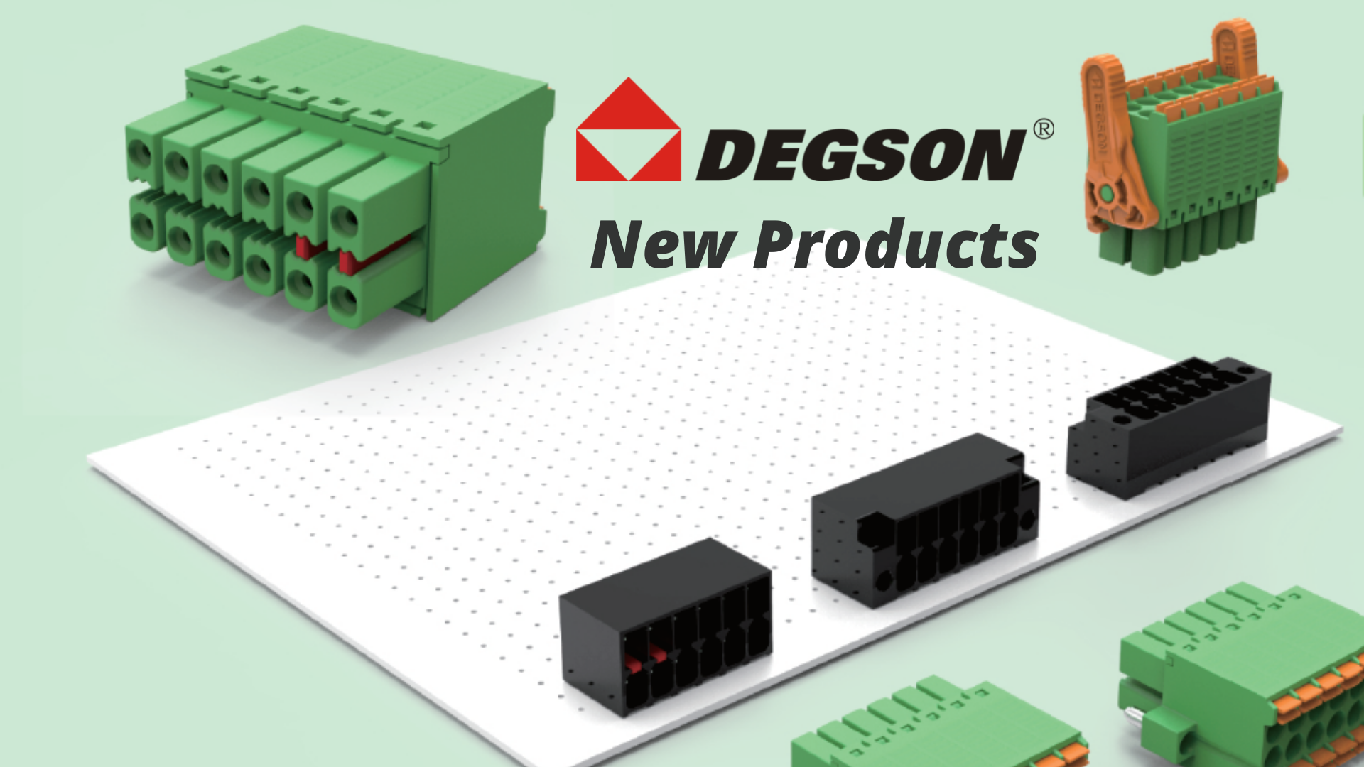 DEGSON New Product Release