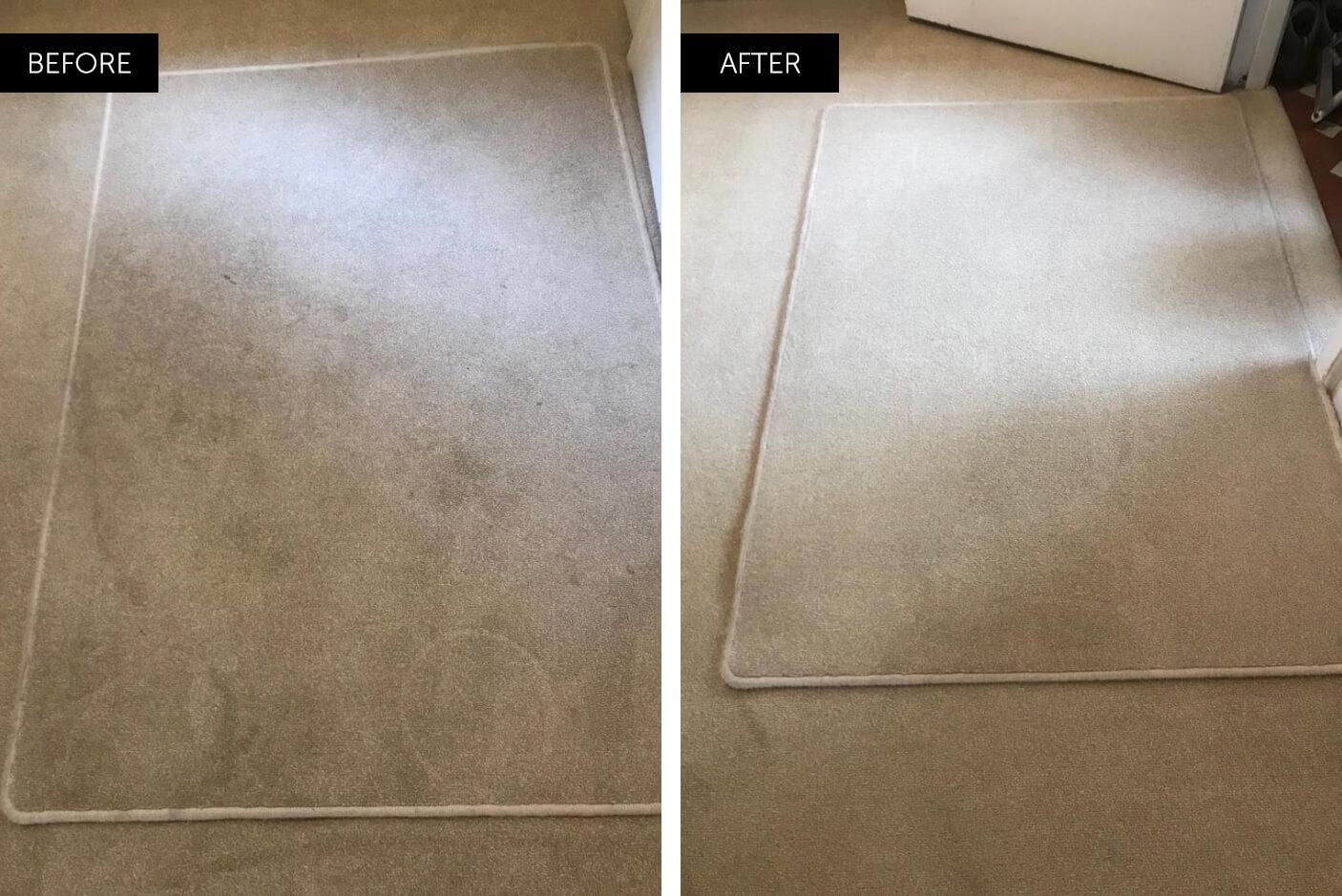 door mat professionally cleaned