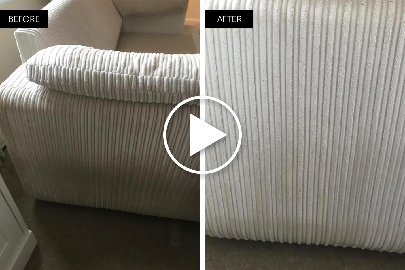 professional upholstery cleaning video