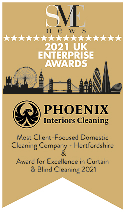 sme news 2021 uk enterprise awards - most client focused domestic cleaning company hertfordshire