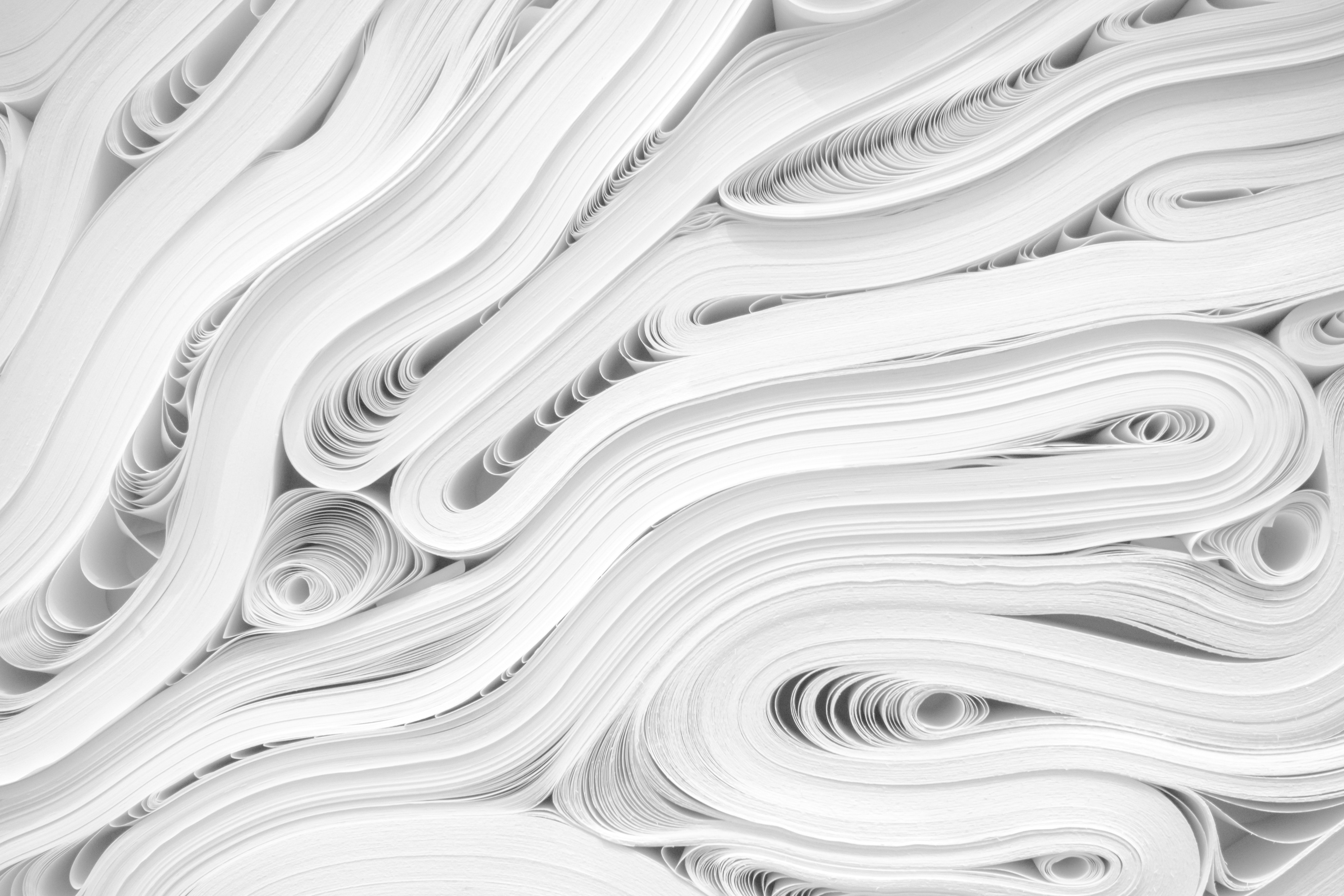 paperless stak of paper