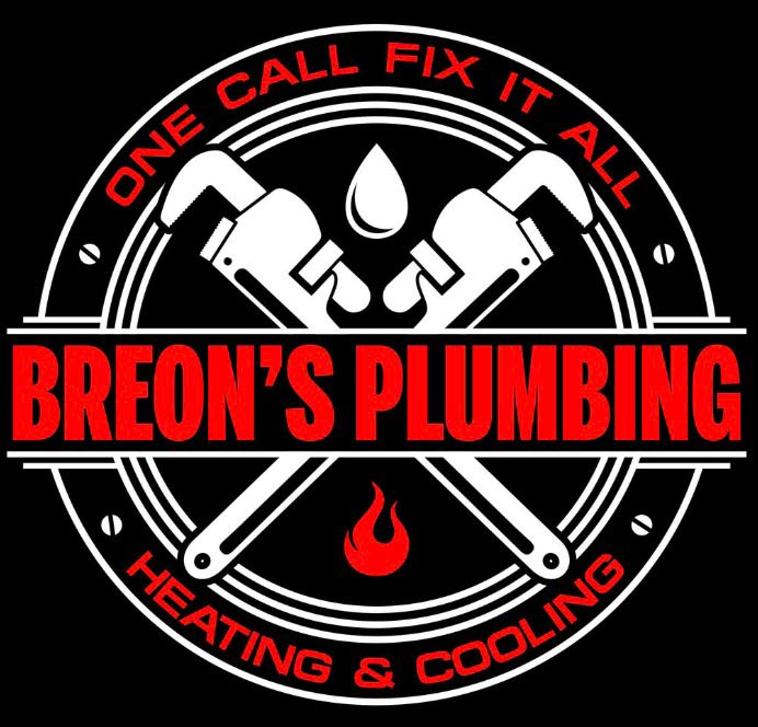 Breon's Plumbing Heating and Cooling logo