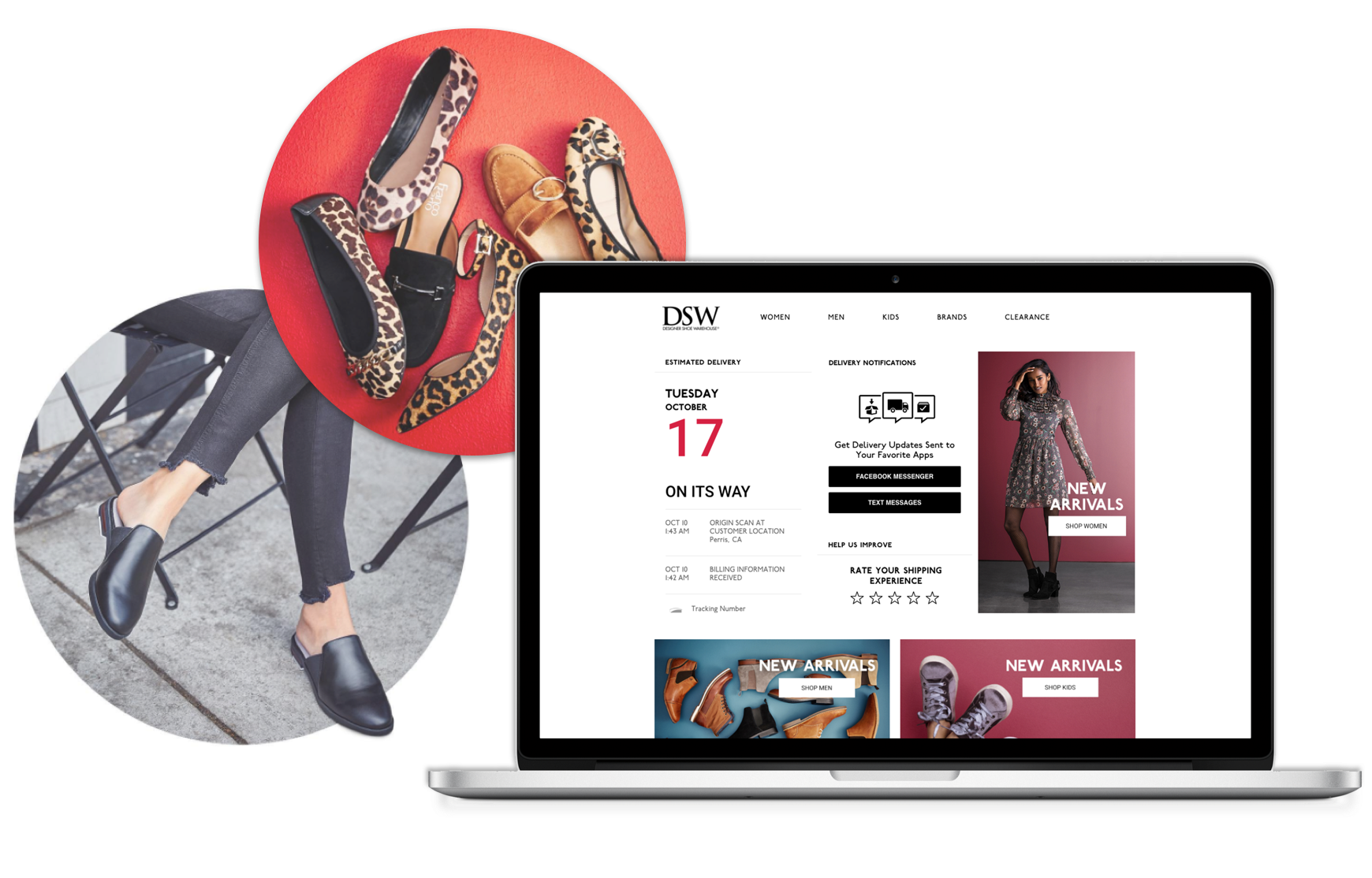 DSW-post-purchase-with-Narvar