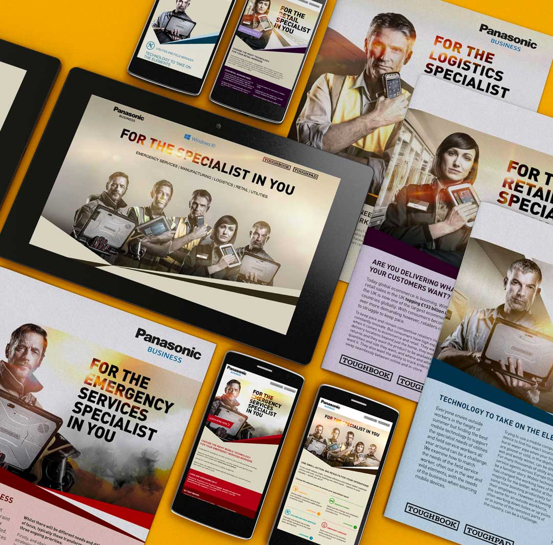 panasonic campaign collateral
