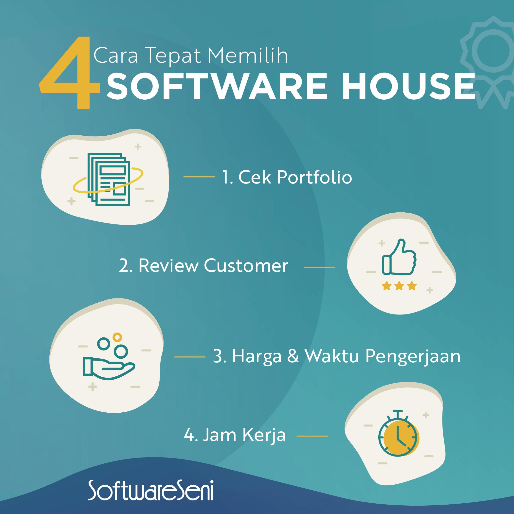 4  Cara Tepat Memilih Software House Jakarta yang Berkualitas