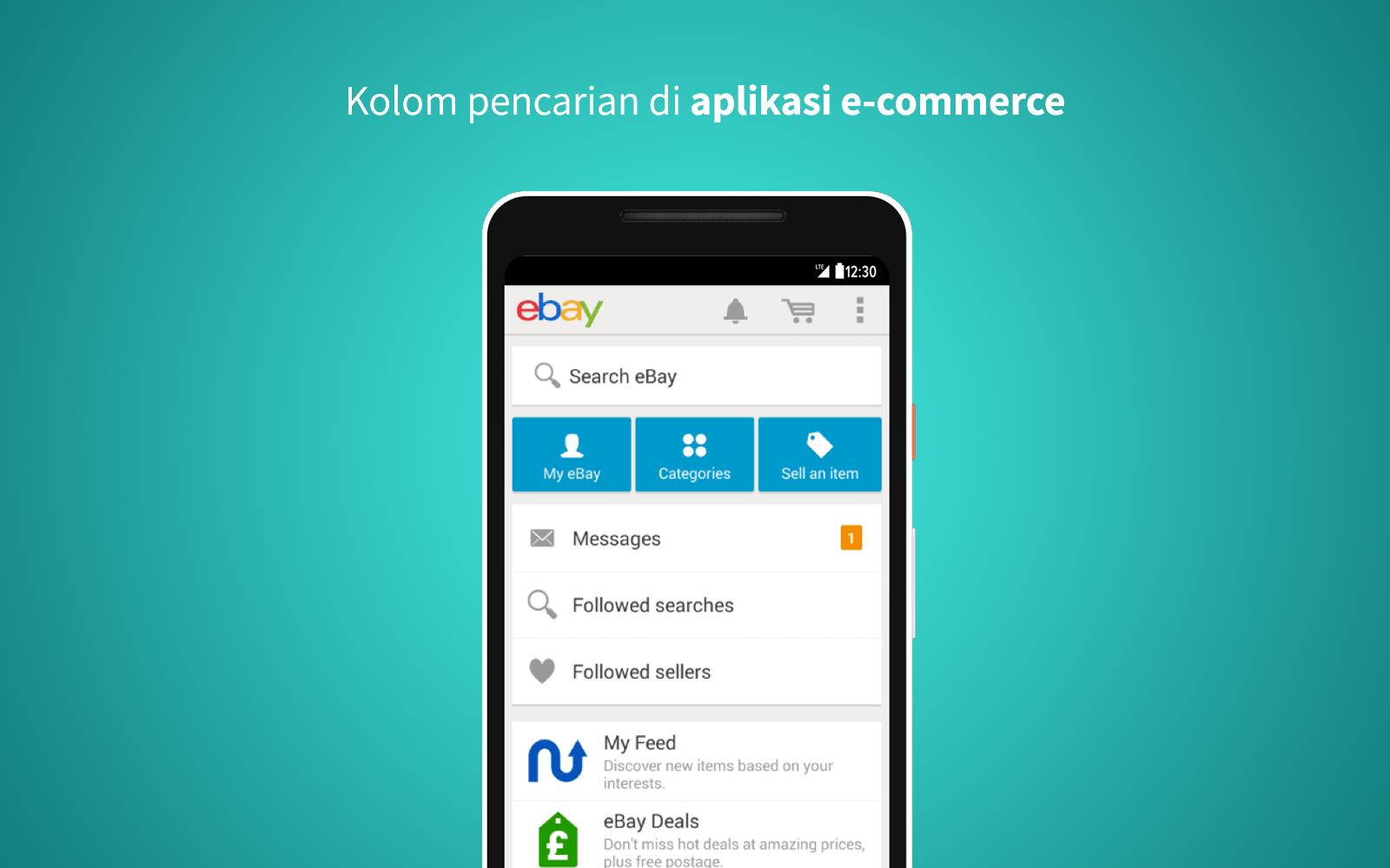 mobile aplikasi ecommerce