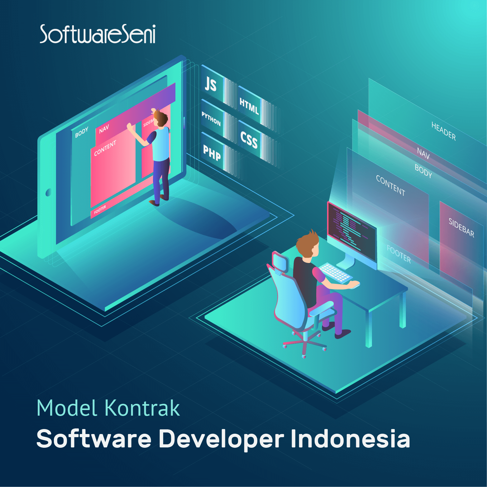 3 Model Kontrak Software Developer Indonesia