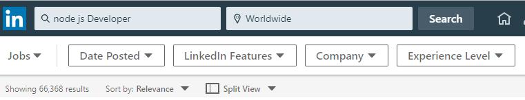 node js atau php