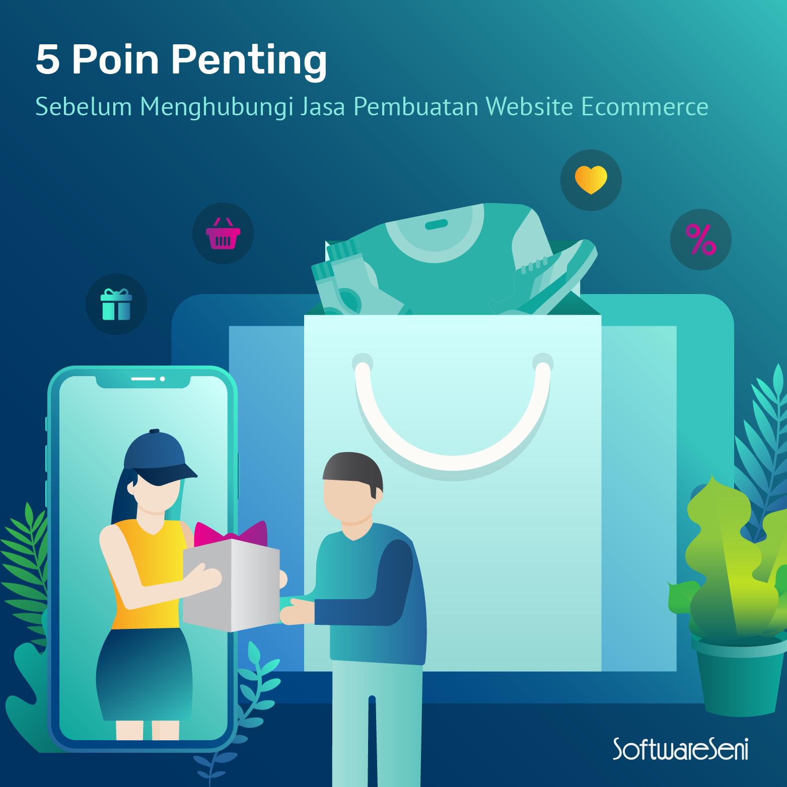 5 Poin Penting Sebelum Menghubungi Jasa Pembuatan Website Ecommerce