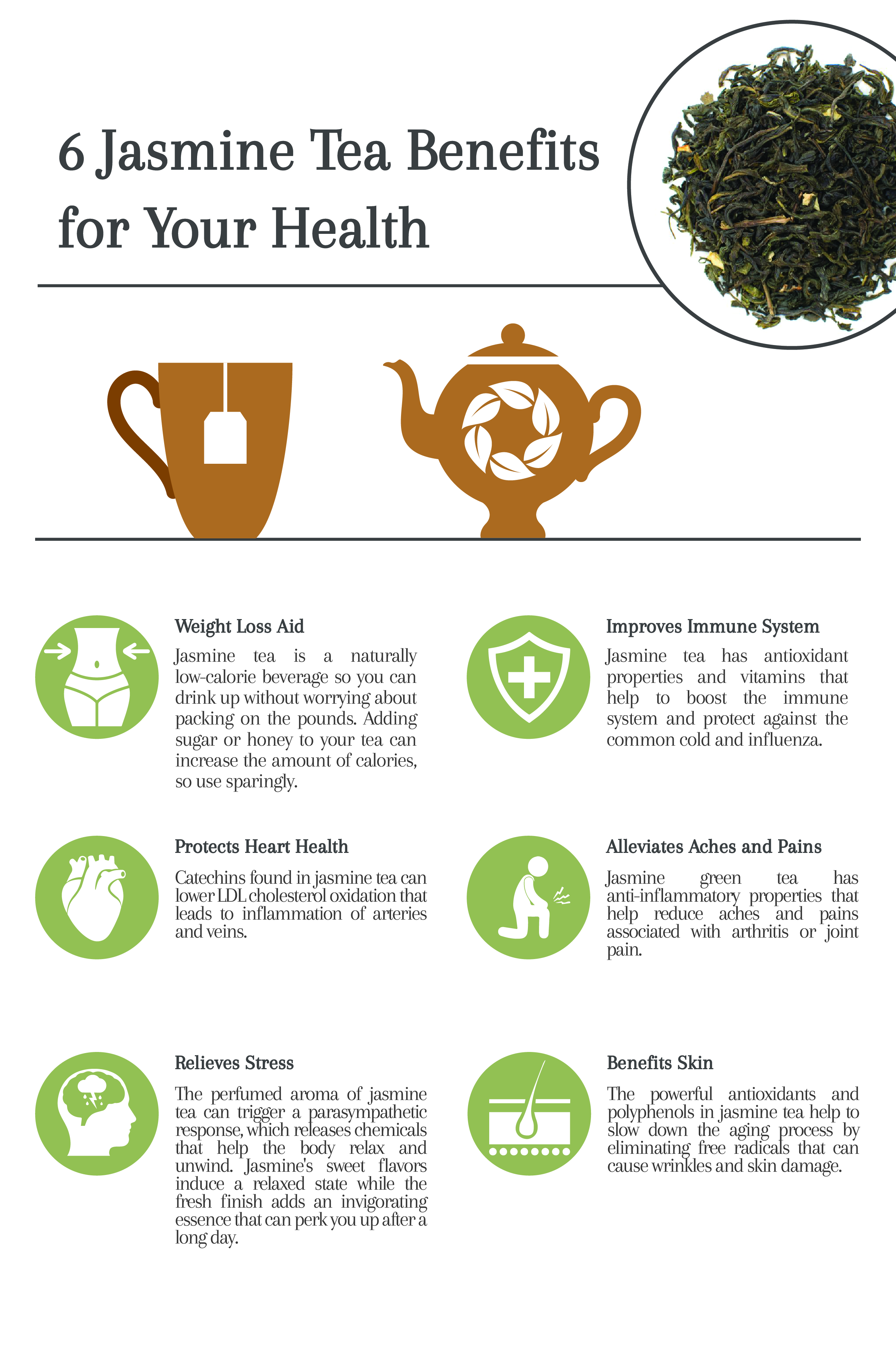 9 jasmine tea benefits for your health - cup & leaf