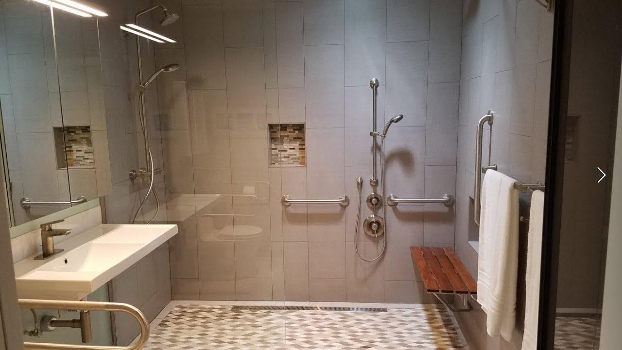 bathroom for handicap or elderly people
