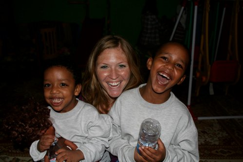 Tomas, Binyam and me in Ethiopia - The Adventure Project