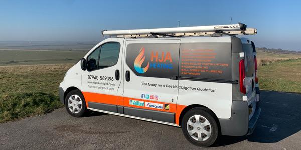 HJA Heating Van image