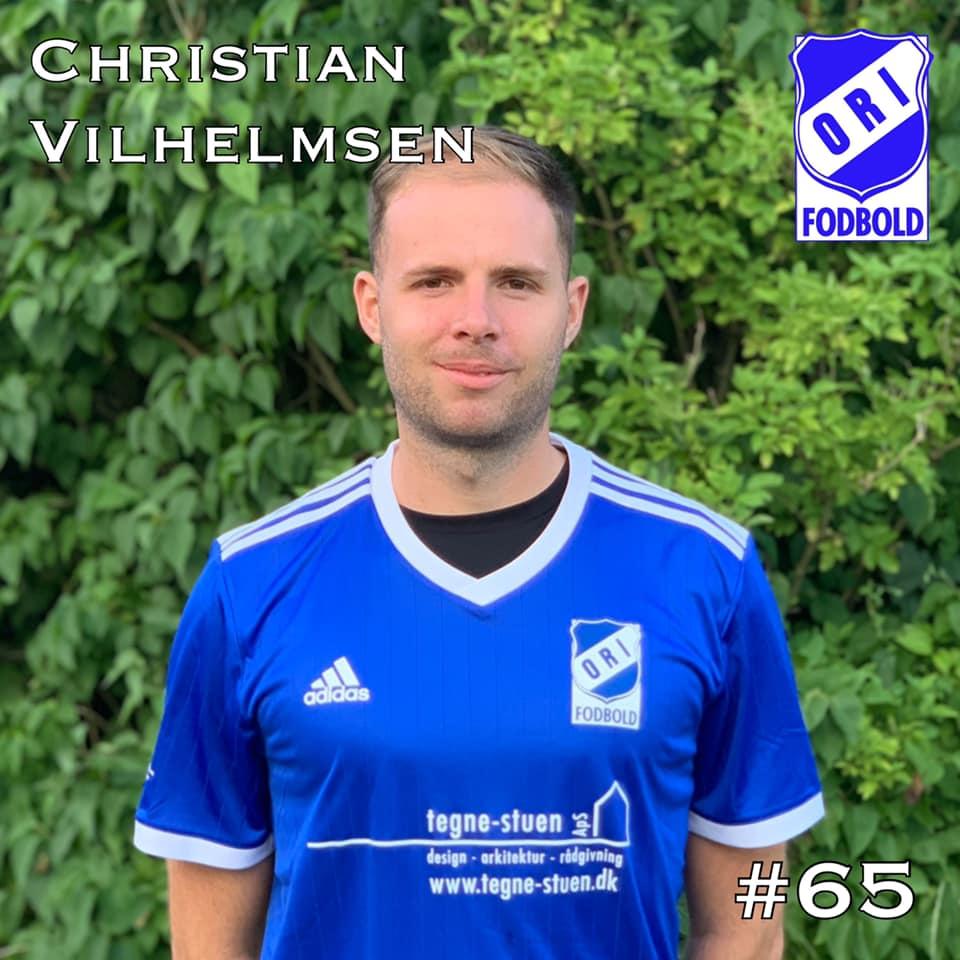 Christian Vilhelmsen er ny spiller i ORI