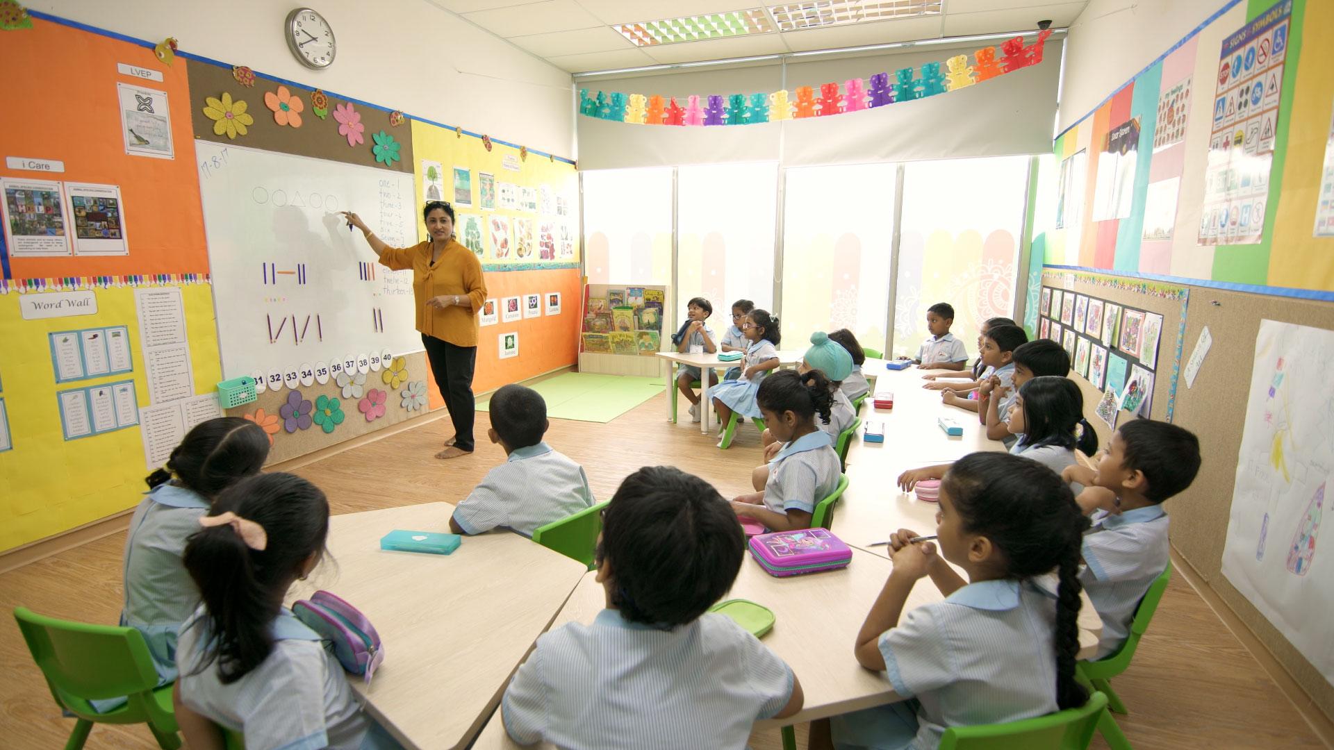 GMP Pre Primary Classroom