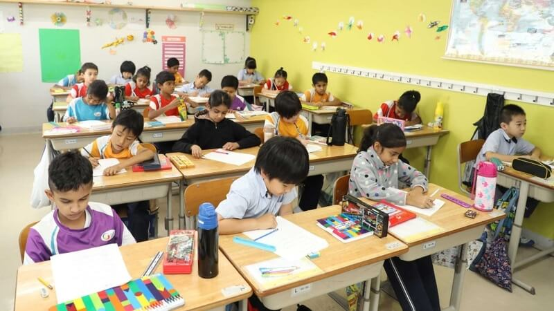 IB Primary Years Programme Classroom
