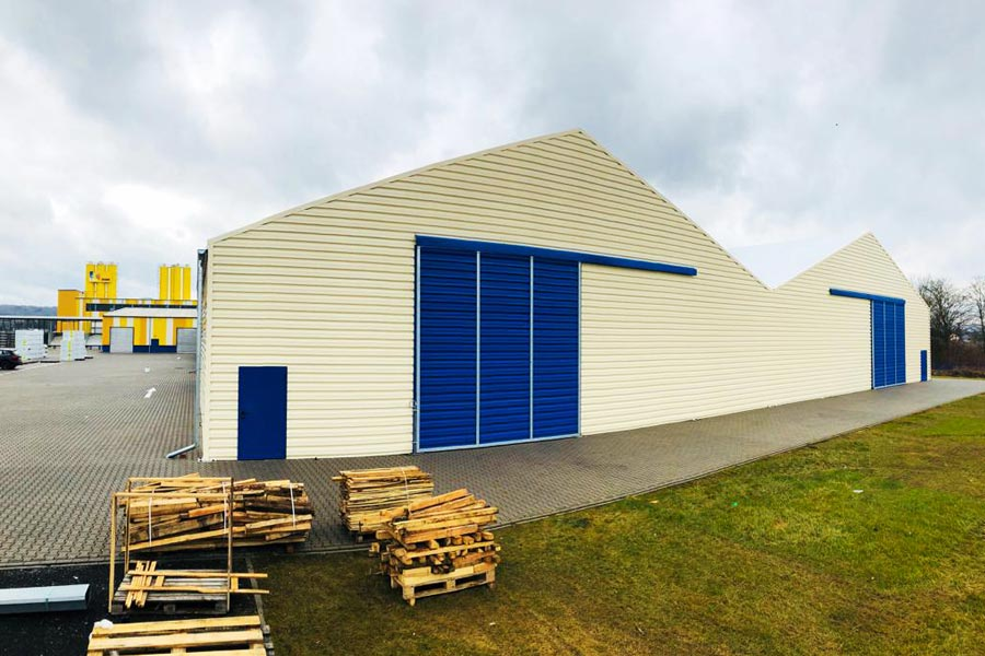 An example of a large bespoke BigBox building.