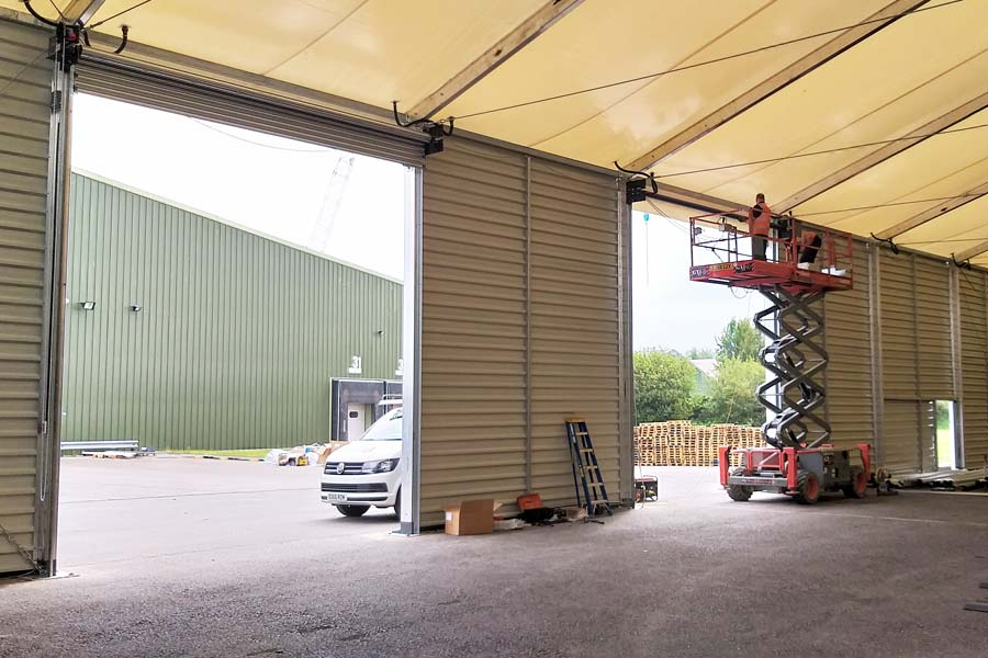 PVC Roofed BigBox Temporary Building