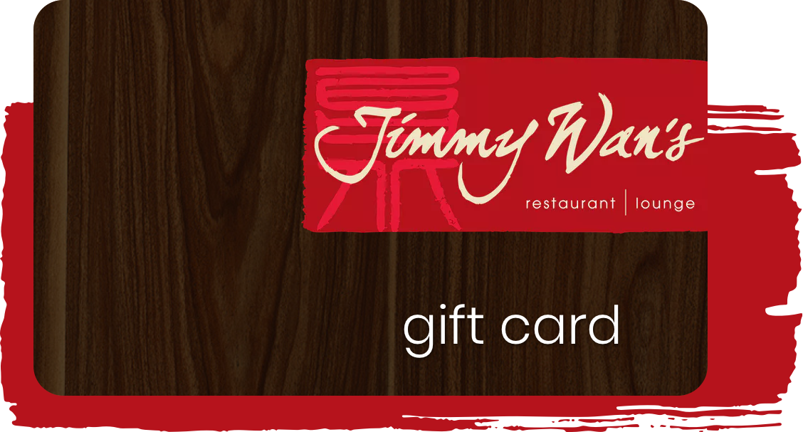 gift card of Jimmy Wan's