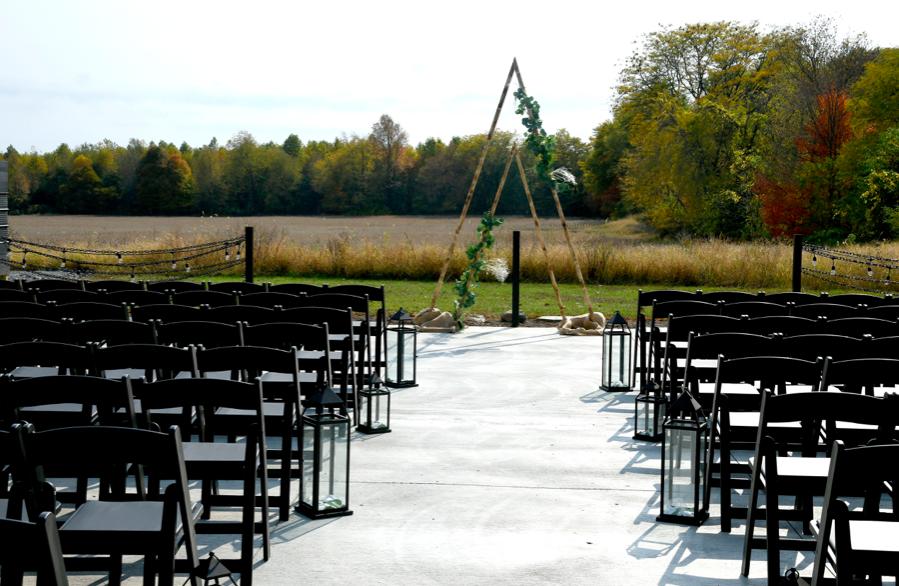 Leslie Wedding Outdoor Ceremony